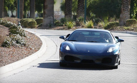 $99 for a One-Hour Ferrari F430 Driving Experience with Commemorative Photo from TryExoticCars.com ($249 Value)