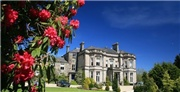 A grand country house hotel and spa, including full Welsh breakfast and use of the spa facilities