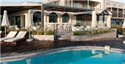 Five-star Crete retreat on a half-board basis with beachfront access, garden or sea-view rooms and all travel included