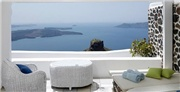 Romantic boutique retreat in Santorini, with spectacular views, breakfast, flights and private transfers